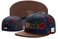 New Hip Hop Men's CAYLER Sons Hat adjustable Baseball Snapback Flower Street cap