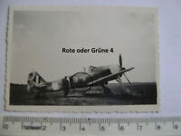 US-Foto: Beute FW-190, Rote oder Grüne 4, Rumpfbänder ? Luftwaffe, Original