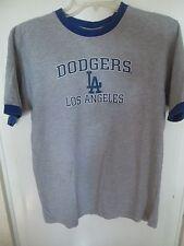 MLB LA Dodgers T-Shirt Large 14/16 Authentic Baseball