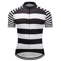 Man Bike Riding Cycling Jersey Bicycle Women Men Breathable Shirts DKGEMN White