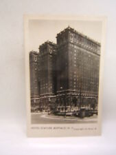 Hotel Statler Buffalo NY Post Card La Grau Glossy Black & White Unused Free Ship