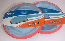 Chuckit! Paraflight Dog Toy Large Blue/Orange 2-Pack