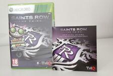 SAINTS ROW 3 D1 EDITION THE THIRD XBOX 360 NUOVO SIGILLATO ITALIANO PIÙ CD SOUND