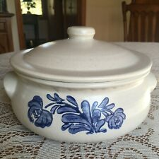 PFALTZGRAFF YORKTOWNE BLUE 2QT ROUND CASSEROLE COVERED SERVING BOWL WITH LID