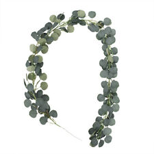 Artificial Greenery Garland Faux Silk Eucalyptus Vines Wreath Wedding Wall Decor