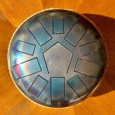 Tankdrum Klangschale Handpan Sound Healing 11 Töne 432Hz Meditation Stahl Zunge