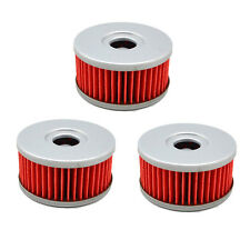 3X Oil Filter AHL136 for Suzuki DR250 DR350 DR400 DRZ250 GN250 GN400 SP250 VL125