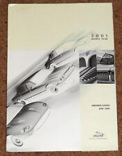 2001 JAGUAR RANGE Press Info & Ordering Guides - XKR XK8 XJR XJ8 S-Type Daimler