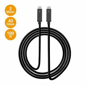 SIIG Thunderbolt 3 40Gbps Active Cable - 2M (CB-TB0111-S1)