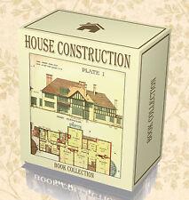House Construction Design 120 Rare Books on DVD - Architecture Building Plans B9