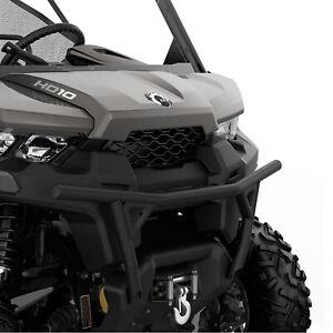Can-Am New OEM UTV Black XT Front Bumper, Defender HD, 715004407