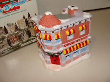 California Creations Holiday Christmas Village Hand Painted Drug Store SE 169