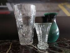 vases verre cristal art-déco art nouveau vintage CERAMIC by PN