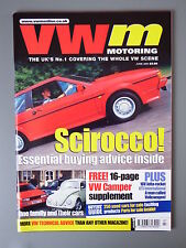 R&L Mag: VW Motoring June 2001 T25 Buyers Guide/T2 Pick-Up/Mk2 Jetta Modded