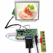 "DVI VGA LCD Controller Board  LVDS Tcon Board 5"" AT056TN53 V1 640X480 LCD"