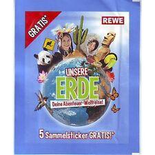 Rewe Sticker Sammelsticker Unsere Erde 2012 40 Stück aussuchen