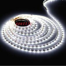 5M 3528 SMD White 300 Led Strip Light Nonwaterproof Car 12V 16.4ft Lamp Tape