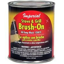NEW IMPERIAL CH0134 16OZ  HIGH HEAT STOVE AND GRILL BRUSH ON PAINT 8193849