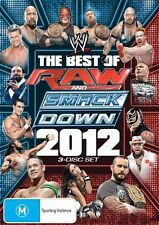 WWE - Best Of Raw Smackdown 2012 (DVD, 2013, 4-Disc Set)-REGION 4-free postage