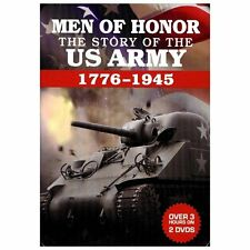 Men of Honor: The Story of the U.S. Army (DVD, 2013, 2-Disc Set)