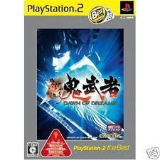 Shin Onimusha Dawn of Dreams PS2 Import Japan the Best
