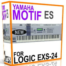 YAMAHA MOTIF ES For APPLE LOGIC EXS EXS-24 Samples/Presets/Sounds 5 DVD'S 15GB
