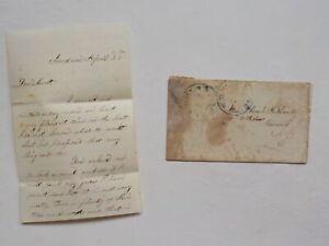 Civil War Letter Assassination Abraham Lincoln Arrested John Wilkes Booth Like