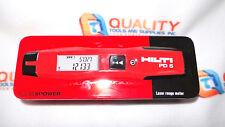 New HILTI PD5 Laser Range Finder Distance Measurer 70m 230 ft.