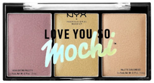 NYX Love You So Mochi Highlighting Palette 01 Lit Life