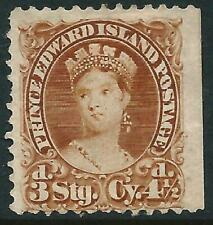 CANADA - PRINCE EDWARD IS. - 1870 QV 3d 'YELLOW-BROWN' MNG SG32 Cv £75 [A2909]