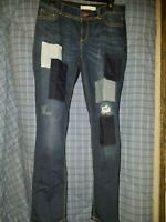 Women's EST. 1946 Denim Distressed Super Stretch Denim Blue Jeans Size 10