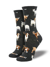 Goat Socks - Socksmith Cotton Crew One Size Fits Most