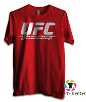 UFC T Shirt S-3XL Training Gym MMA Bodybuilding McGregor Workout Muay Thai Boxin