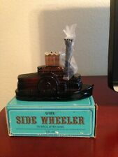 Avon Side Wheeler Decanter - Tai Winds after shave - 1976
