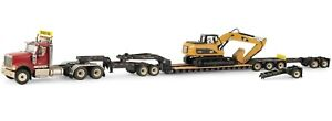 1:50 Diecast Masters International HX520 Semi w/Lowboy & CAT 320DL Excavator NIB