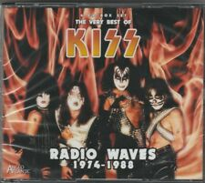 kiss - 4 cd - the very best of - radio waves 1974 - 1988 (neufs et scellés)