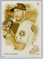 Justin Verlander 2019 Allen and Ginter 5x7 Gold #26 /10 Astros