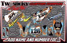 KTM 50/65 sx Graphics Kit with custom numbers etc - SX 50 65 2002-2016