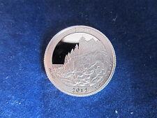 2012-S Silver Quarter ACADIA Deep Cameo Mirror Proof Upper  Grading Ranges