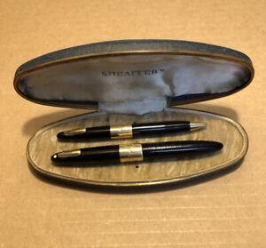 Vintage SHEAFFER'S 14K GOLD PEN & PENCIL