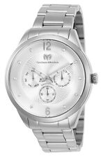 Technomarine TM-117039 MoonSun Unisex 42mm Silver with Stones on the Dial
