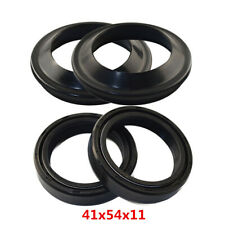 41x54x11 Universal Motorcycle Front Fork Shock Absorber Oil Seal+Dust Seal Kits