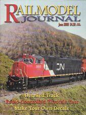 Railmodel Journal June 2000 Make Your Own Decals BN Soo Southern Pacific Atlas