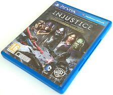 ps vita INJUSTICE ULTIMATE EDITION pal fr complet sony playstation