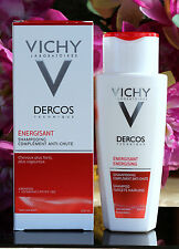 VICHY Dercos energising shampoo targets hairloss 200 ml-6.8 Fl.Oz. BEST PRICE!!