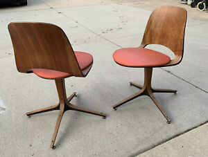 Plycraft Side Dining Chairs Mulhauser Vintage Sharp And Clean!