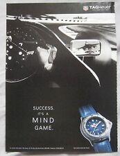 1995 TAG Heuer Watch Original advert