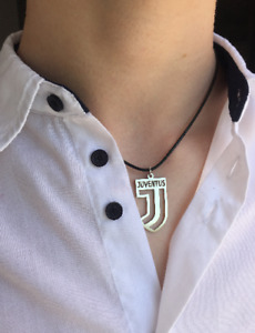 JUVENTUS Necklace chain, Juventus F. C. Mens Jewellery Stainless Steel pendant