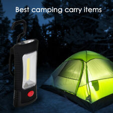 2 Mode COB Outdoor Emergency Tent Work Flashlight Magnetic Hanging Hook Light