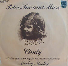 """7"""" 1976 KULT ! PETER , SUE & MARC : Cindy // MINT- \"""
